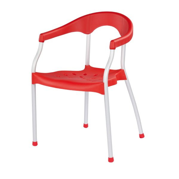 Serena Arm Chair - Red