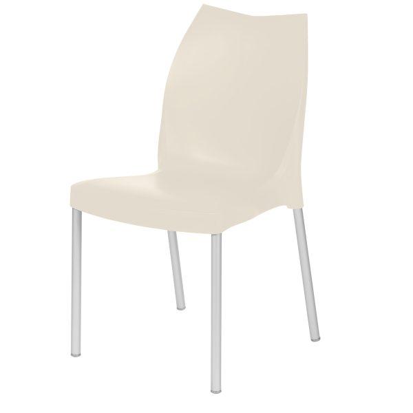 Tulip Side Chair - Beige