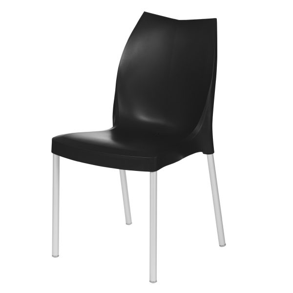 Tulip Side Chair - Black