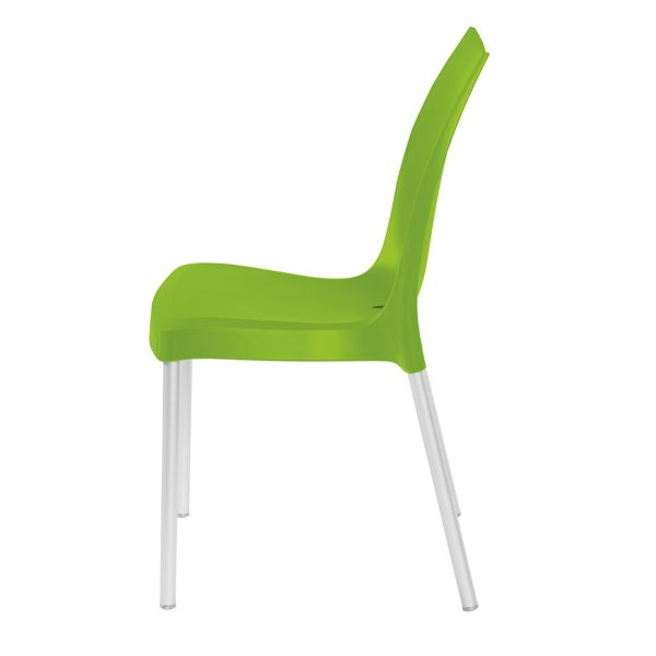 Tulip Side Chair - Lime Green