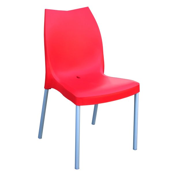 Tulip Side Chair - Red