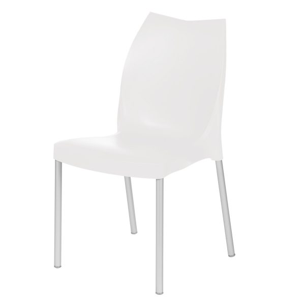 Tulip Side Chair - White
